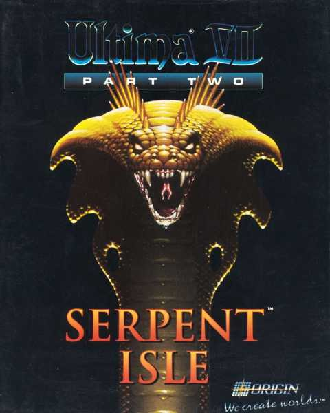 Ultima VII Part II: Serpent Isle Cover